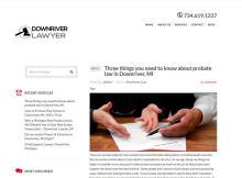probate lawyer downriver Michigan