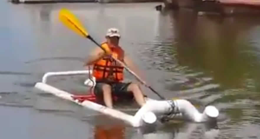 Make Your Own Pvc Kayak Boat For Around 50 Access Your Bars