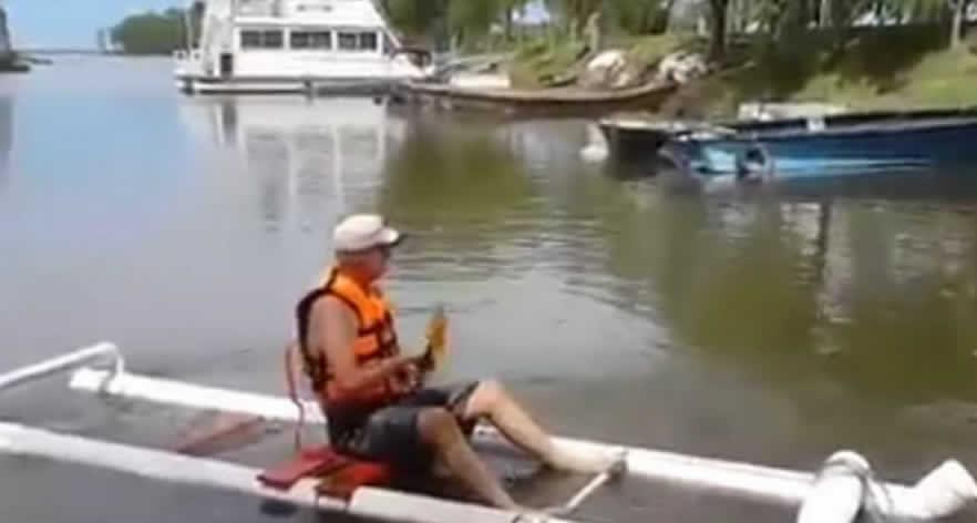 Kayak from PVC Pipe