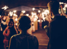 Create Some Amazing Photos With Wedding Sparklers
