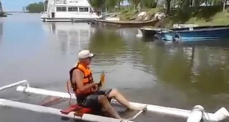 Kayak from PVC Pipe