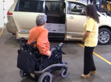 used wheelchair van for sale